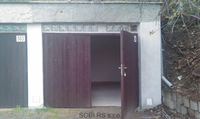 Postup rekonstrukce garáže